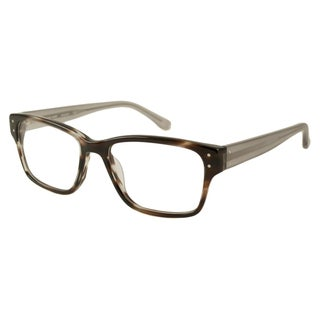 Michael Kors Men's MK284M Rectangular Reading Glasses