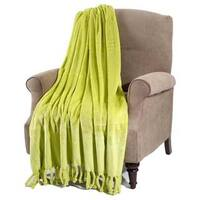 BOON Rope Braided Flannel Fleece Throw