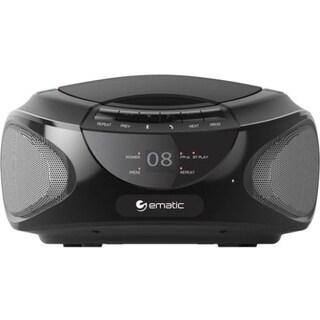 Ematic CD Boombox with Bluetooth Audio & Speakerphone EBB9224