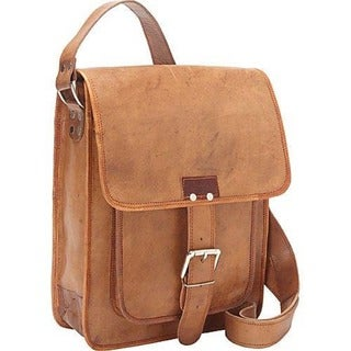 Sharo Retro One-Strap Close Messenger Bag
