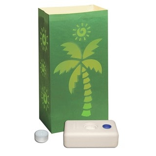 Luminaria Kit- Palm Tree- 12 Count