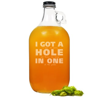 Hole in One Glass Growler