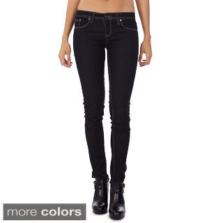 Dinamit's Juniors Skinny-leg Low Rise Jeans (Option: 5)