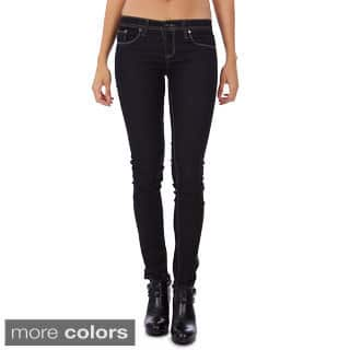 Dinamit's Juniors Skinny-leg Low Rise Jeans|https://ak1.ostkcdn.com/images/products/10077427/P17220772.jpg?impolicy=medium