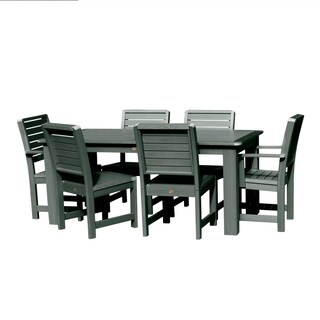 Weatherly 7-piece Rectangular Outdoor Dining Set (2 options available)