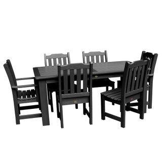 Lehigh 7-piece Rectangular Dining Set (More options available)