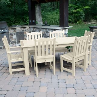 Highwood Eco-friendly Synthetic Wood Lehigh 7-piece Rectangular Dining Set|https://ak1.ostkcdn.com/images/products/10077575/P17220949.jpg?impolicy=medium