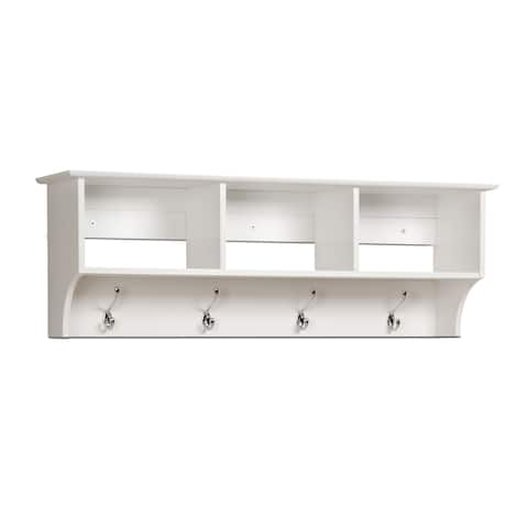 Winslow White Hanging Entryway Shelf