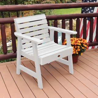 Highwood Eco-friendly Marine-grade Synthetic Wood Weatherly Garden Chair