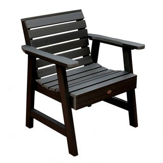 Highwood Marine-grade synthetic wood Weatherly Garden Chair