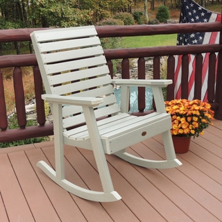 Highwood Eco-friendly Marine-grade Synthetic Wood Weatherly Rocking Chair
