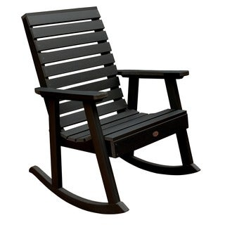 Highwood Marine-grade Synthetic Wood Weatherly Rocking Chair (Eco-friendly)