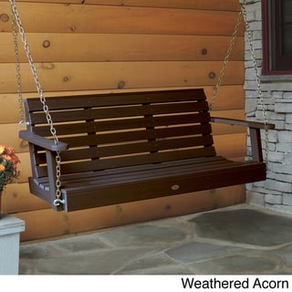 Highwood Eco-friendly Marine-grade Synthetic Wood Weatherly 5 ft. Porch Swing
