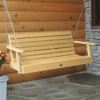 Highwood Weatherly Eco-friendly Marine-grade Synthetic Wood 5-foot Porch Swing