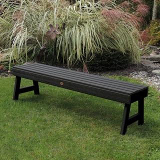 Highwood Eco-friendly Marine-grade Synthetic Wood Weatherly 4 ft. Picnic Bench