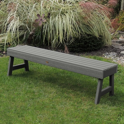 Highwood Weatherly 4-foot Eco-friendly Synthetic Wood Picnic Bench