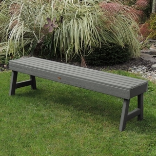 Highwood Eco-friendly Marine-grade Synthetic Wood Weatherly 4 ft. Picnic Bench