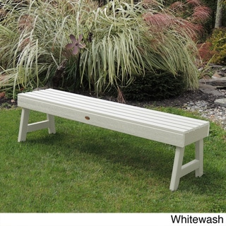Highwood Eco-friendly Marine-grade Synthetic Wood Weatherly 5 ft. Picnic Bench