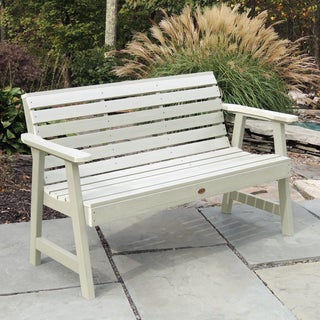 Highwood Eco-friendly Marine-grade Synthetic Wood Weatherly 4 ft. Garden Bench