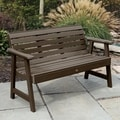 Highwood Eco-friendly Marine-grade Synthetic Wood Weatherly 4 ft. Garden Bench