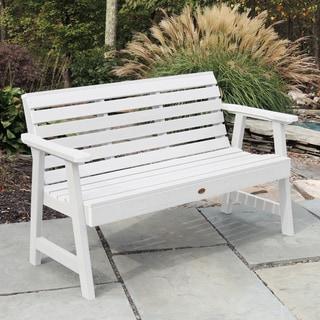 Highwood Eco-friendly Marine-grade Synthetic Wood Weatherly 5 ft. Garden Bench