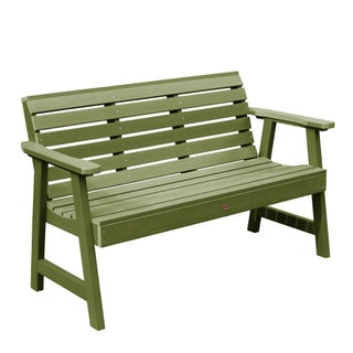 Highwood Weatherly 5-foot Eco-friendly Synthetic Wood Garden Bench