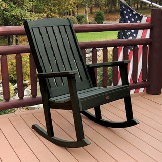 Highwood Eco-friendly Marine-grade Synthetic Wood Lehigh Rocking Chair