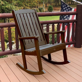 Highwood Eco-friendly Marine-grade Synthetic Wood Lehigh Rocking Chair
