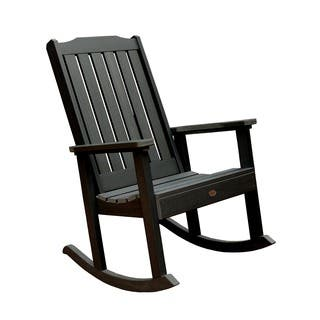 Highwood Eco Friendly Marine Grade Synthetic Wood Lehigh Rocking Chair More Options Available