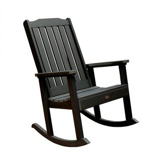Highwood Eco Friendly Marine Grade Synthetic Wood Lehigh Rocking Chair