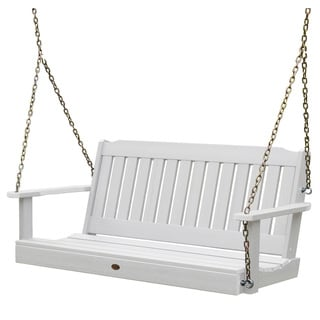 Highwood Eco-friendly Marine-grade Synthetic Wood 5 ft. Porch Swing