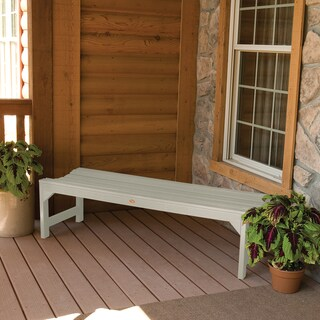 Highwood Eco-friendly Marine-grade Synthetic Wood Lehigh 5 ft. Picnic Bench