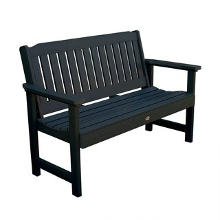 Highwood Lehigh 4-foot Eco-friendly Marine-grade Synthetic Wood Garden Bench