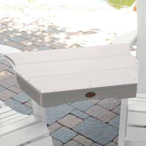 Highwood Eco-Friendly Adirondack Tete-a-Tete Connecting Table