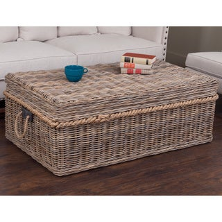 Decorative Norway Casual Tan Rectangle Coffee Table