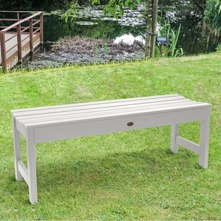 Highwood Eco-friendly Marine-grade Synthetic Wood Lehigh 4 ft. Picnic Bench