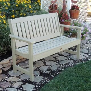 Highwood Eco-friendly Marine-grade Synthetic Wood Lehigh 5 ft. Garden Bench