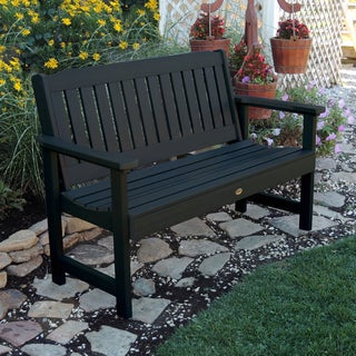 Highwood Leigh Eco Friendly Marine Grade Synthetic Wood 5 Foot Garden Bench