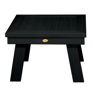 Highwood Eco-friendly Marine-grade Synthetic Wood Adirondack Side Table