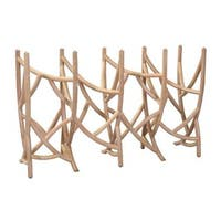 East At Main's Decorative Gilchrist Natural Tan Specialty Console Table