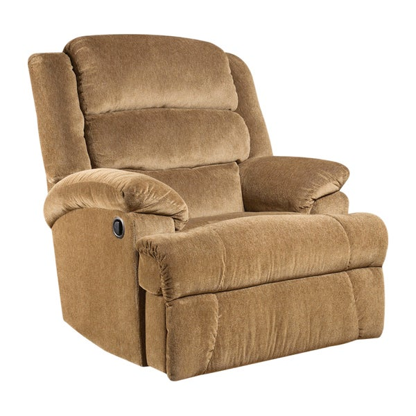 offex big and tall 350 pound capacity microfiber recliner free