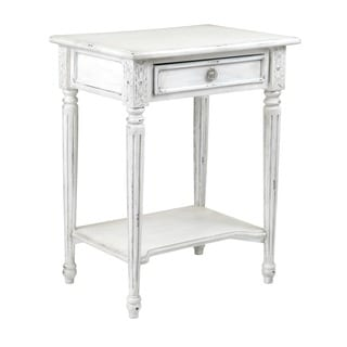 Decorative Hines Casual Grey Square Accent Table