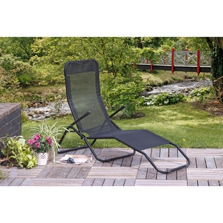 Siesta Reclining Lounger Black  sc 1 st  Overstock.com & Recliners Patio Furniture - Shop The Best Outdoor Seating u0026 Dining ... islam-shia.org