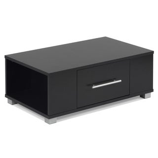 Sorento Coffee Table Black with Drawer