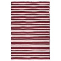Nourison Mesa Red Rug - 5' x 7'6