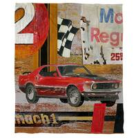 Musce Cars Cora Fleece Throw