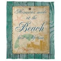 Memories at the Beach Cora Feece Throw