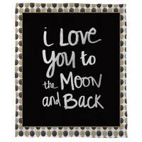Moon God and Back Cora Feece Throw