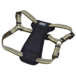 Coastal K9 Explorer Green Reflective Adjustable Harness