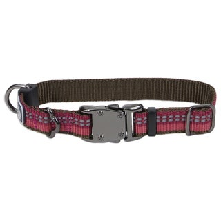 Coastal K9 Explorer Berry Reflective Adjustable Collar